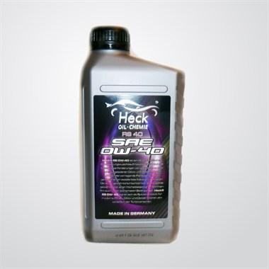 Синтетическое моторное масло Heck® RS 0W-40