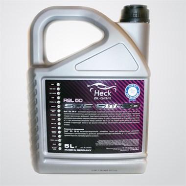 Моторное масло Heck® RSL 5W-50 5 л