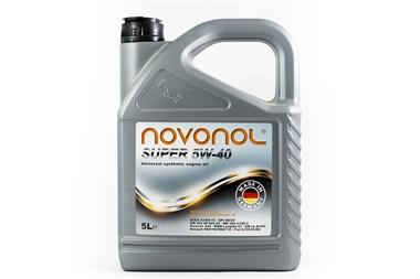 Моторное масло NOVONOL SUPER 5W-40 5л - фото 4374