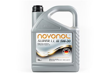 Моторное масло NOVONOL 5W-30 LL (Longlife) III 5л - фото 4382